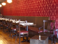 Dining room at The Regal Beagle, Brookline, MA