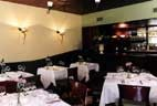 Dining room at Bricco, Boston, MA