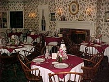 Dining room at Asa Ransom House, Clarence, NY