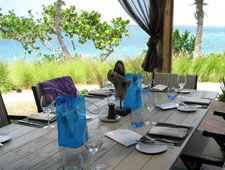 Dining room at THIS RESTAURANT IS CLOSED miX on the beach, Vieques, puerto-rico