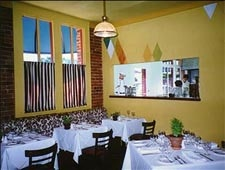 Dining room at Bistro Laurent, Paso Robles, CA