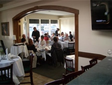 Dining Room at Giancarlo's Ristorante Mediterraneo, Morro Bay, CA