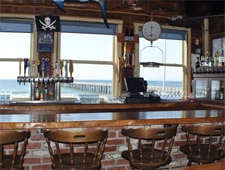 Dining Room at Schooners Wharf, Cayucos, CA