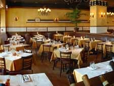Dining room at Antico Posto, Oak Brook, IL