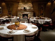 Dining room at L. Woods Tap & Pine Lodge, Lincolnwood, IL