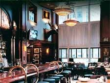 Dining room at McCormick & Schmick's, Chicago, IL