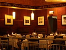 Dining room at The Grillroom, Chicago, IL