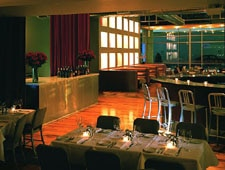 Dining room at Bin 36, Chicago, IL