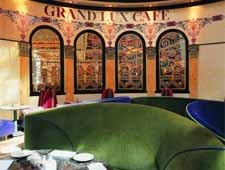 Dining room at Grand Lux Cafe, Chicago, IL