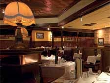 Dining room at Pete Miller's Steakhouse, Evanston, IL