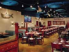 Dining room at Tin Fish, Tinley Park, IL