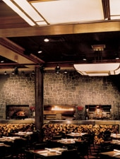 Dining room at Wildfire, Chicago, IL