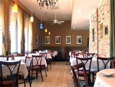 Dining room at Via Veneto, Chicago, IL