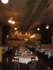Dining room at Nonno Pino's, Chicago, IL