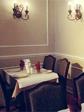 Dining room at Reza's Restaurant, Oak Brook, IL