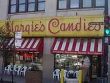 Dining room at Margie's Candies, Chicago, IL