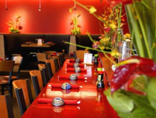 Dining room at RA Sushi Bar Restaurant, Glenview, IL