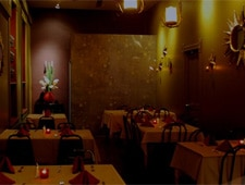 Dining room at Mundial Cocina Mestiza, Chicago, IL