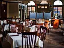 Dining room at Niche, Geneva, IL