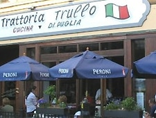 Dining room at Trattoria Trullo, Chicago, IL