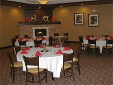 Dining room at Urban Grille, Geneva, IL