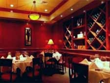 Dining room at Fleming's Prime Steakhouse & Wine Bar, Lincolnshire, IL