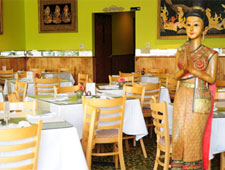 Dining room at Thai Pastry & Restaurant, Chicago, IL