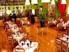 Dining room at Real Tenochtitlan, Chicago, IL