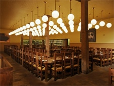 Dining room at The Publican, Chicago, IL