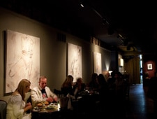 Dining room at Rootstock Wine & Beer Bar, Chicago, IL