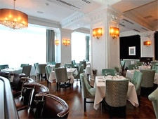 Dining room at Henri, Chicago, IL