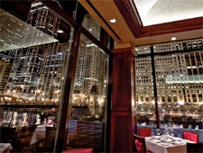 Dining room at Chicago Cut Steakhouse, Chicago, IL