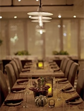 Dining room at Perennial Virant, Chicago, IL