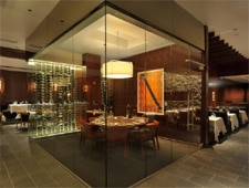 Dining room at III Forks, Chicago, IL