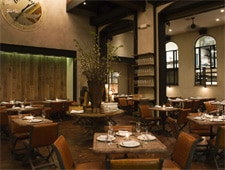 Dining room at Balena, Chicago, IL