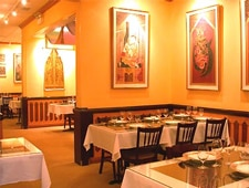 Dining room at Arun's, Chicago, IL