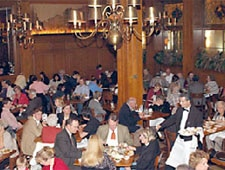 Dining room at The Berghoff, Chicago, IL