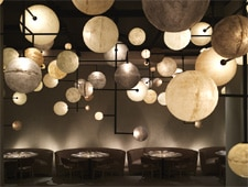 Dining room at Pump Room, Chicago, IL