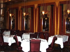 Dining room at Vivere, Chicago, IL