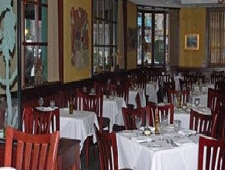 Dining room at Volare, Chicago, IL