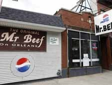 Mr. Beef on Orleans, Chicago, IL