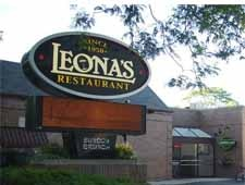 Dining room at Leona's, Chicago, IL
