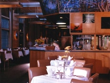 Dining room at Catch 35, Chicago, IL