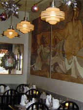 Dining room at Bacchanalia, Chicago, IL