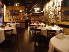 Dining room at P.J. Clarke's, Chicago, IL