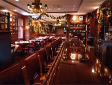 Dining Room at Gene & Georgetti, Chicago, IL