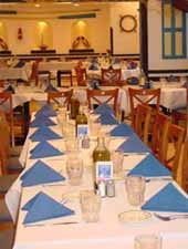 Dining Room at Greek Islands, Chicago, IL