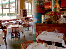 Dining room at La Sardine, Chicago, IL