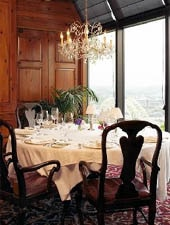 Dining room at The Celestial, Cincinnati, OH