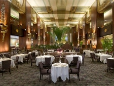 Dining room at Orchids at Palm Court, Cincinnati, OH
